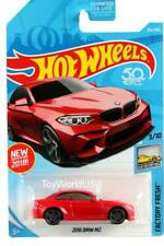 2018 Hot Wheels #254 Factory Fresh 2016 BMW M2 red
