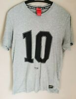 Nike FC Mens Grey T-shirt - Number 10 - Size Medium - Excellent Condition