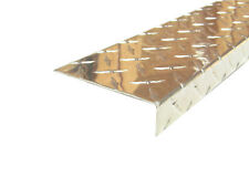 Aluminum Diamond Plate Angle 062 X 1 X 4 X 48 In 3003 Uaac