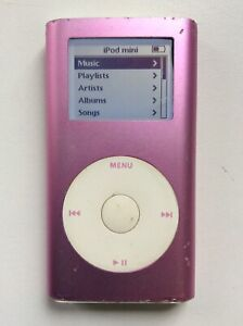 Apple Ipod Mini 4GB Pink Unit Only No Leads lOOk!