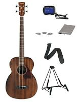 Ibanez PCBE12MH Concert Body 4-String Acoustic Electric Bass Guitar
