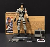 G.I. Joe 25th Dataframe Mainframe Exclusive 2 Pack Figure Complete w/ File Card