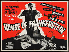 "House of Frankenstein Lobby Card Movie Poster Replica 11x14"" Photo Print"