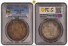 1840-A Prussia 2 Taler PCGS AU53