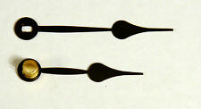 """5"""" Dial Clock Hands, Spade Pattern, Oblong Minute Hand Mounting Hole"""