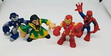 IMAGINEXT HASBRO HEROES IRONMAN spiderman RARE FIGURE X 4 MARVEL BUNDLE