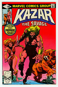 JERRY WEIST ESTATE: KA-ZAR THE SAVAGE #1 (Marvel 1981) NM- condition NO RES