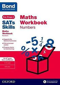 Bond Sats Skills: Maths Workbook: Numbers 10-11 Years: 10-11 years by Andrew...