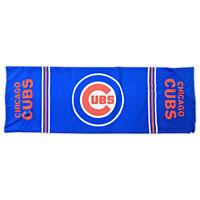 MLB Chicago Cubs Large Baseball Body Pillowcase 18x53 Stuff & Sew Shut