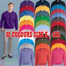 Gildan Heavy Blend™ Adult Crew Neck Men's Plain Sweatshirt Jersey Jumper S - 5XL