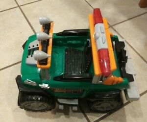 2004 FISHER PRICE RESCUE HEROES ROBOTZ OFF ROAD JEEP CRUISER