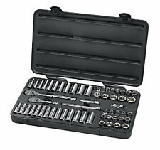Gearwrench 57pc 3/8dr. Socket Wrench, Ratchet Set, SAE & Metric, 84 Tooth #80550