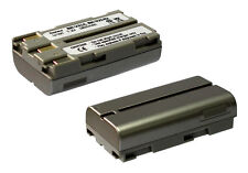Batterie JVC Thomson BN-V207 BN-V214 BAT-200 BAT-300 Comp. pour Caméscopes