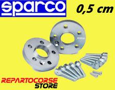 DISTANZIALI SPARCO 5mm 5 FORI +BULLONI - OPEL CORSA C D - ASTRA H / GTC - MERIVA