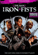 The Man with the Iron Fists DVD Unrated **JUST DISC**