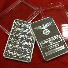 1 oz Silber Silberbarren German Silber Silver Eisernes Kreuz Reichsadler Eagle