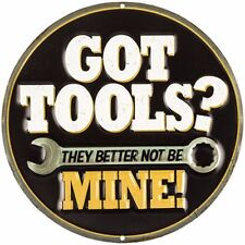 GOT TOOLS?  Vintage Style Metal Signs Man Cave Garage Decor 69