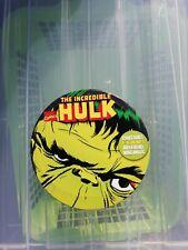 The Incredible Hulk Marvel - Set Of Four Drink Coasters (Mug Mats) In Custom Tin