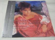 "GLORIA ESTEFAN AND MIAMI SOUND MACHINE WITH obi japan 12""SINGLE ultra rare!!"
