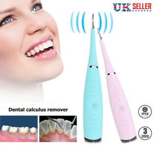 Electric Tooth Cleaner Ultrasonic Teeth Stain Dental Oral Irrigator Cleaning Kit