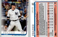 2019 Topps Series 2 CLINT FRAZIER Advanced Stat /150 Parallel Yankees FS #412