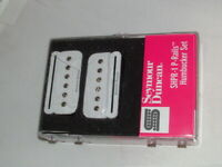 Seymour Duncan SHPR-1 P-Rails Strat Pickup Set WHITE New with Warranty P90