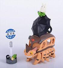 Cute Studio Ghibli Cat Bus, Totoro, Dust Bunny Figurine TSUMU TSUMU Toy