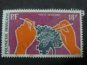 French Colonies - French Polynesia  18F Pearl Diving 1970 - High CV