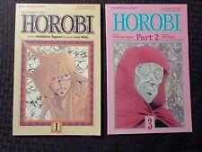 1990 Horobi by Yoshihisa Tagami and Len Wein #1 & 3 Vf/Vf+ Viz Comics