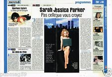 Coupure de Presse Clipping 2000 (2 pages) Sarah Jessica Parker