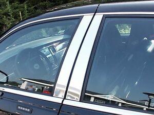 Stainless Chrome Pillar Posts 4PCS QAA Door Trim FOR Lincoln Town Car 1998-2011