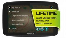 TomTom GO Professional 6250 Lifetime Traffic Radar Lkw-Navi auch Wohnmobil-Navi