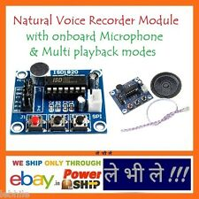 E94S Audio Voice Sound Recorder Recording Board Module with Mic Speaker ISD1820