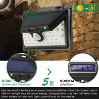 34LED Solar Powered PIR Motion Sensor Light Outdoor Garden Security Wall Lights