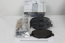 Genuine Mercedes-Benz W211 E-Class FRONT Brake Pads and Sensor A0044208720 NEW!