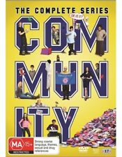 Community : Season 1-6 (DVD, 2016, 17-Disc Set) (Region 4) Aussie Release