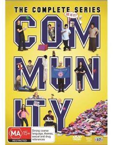 Community The Complete Season Series 1, 2, 3, 4, 5 & 6 DVD Box Set R4 New