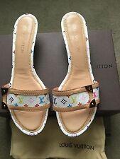 Louis Vuitton Multi Colored Shoes Size 41 US 11 100% Authentic