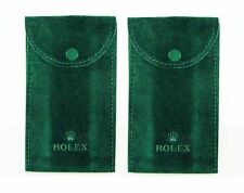 ROLEX WATCH POUCH, LOT OF 2 POUCHES, GENUINE, BRAND NEW.FOR SUBMARINER,PRESIDENT