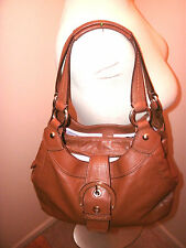 COACH LYNN SOHO HOBO PURSE HANDBAG MEDIUM BROWN F17219