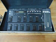 Line 6 POD XT Live Multi Effects Guitar Pedal with CORE Hardshell Case