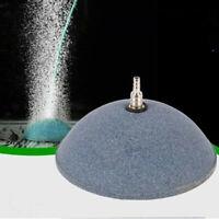 80mm Aquarium Air Bubble Disk Stone Aerator Fish Tank Pump Hydroponics Oxygen US