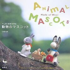 Out of Print / ANIMAL MASCOTS made of WOOL - Japanese Felt Craft Book [JAPANESE]