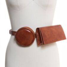 Inc Women's Multi Bag Belt Bag Size S, Cognac & Black NWT Free Shipping