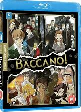 BACCANO COMPLETE SERIES NEW BLU-RAY 3-DISC SET JAPANESE ANIME