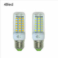 E27 48-SMD Corn LED 5730 LED 12W Cool / Warm White Lights Bulb AC 110V / 220V tw