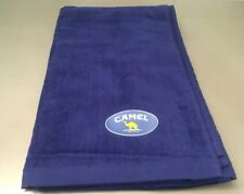 New Old Stock Camel Cigarette 60� X 32� Blue Cotton Towel Beach Bathroom Water