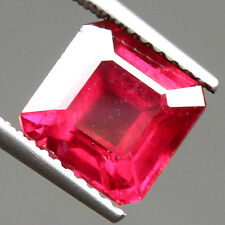 8x8mm Octagon AAA+ Top Quality Gemstone Natural Top Blood Red Ruby (VDO)