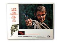 """True Grit"" Original 11x14 Authentic Lobby Card Poster Photo 1969 Wayne"