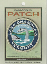 "Lake Champlain Vermont Souvenir Patch  ""Champ"""